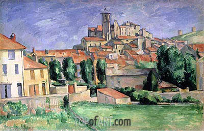 Gardanne, c.1885/86 | Cezanne | Painting Reproduction