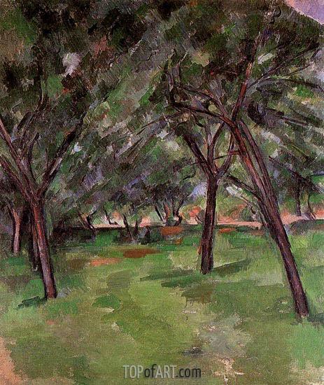 Cezanne | Orchard, c.1890