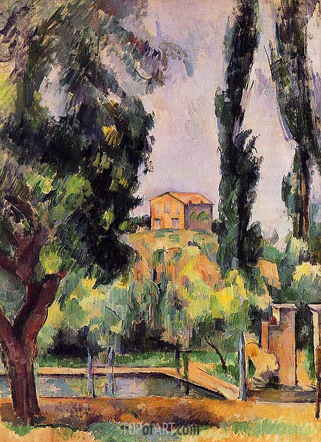 The Jas de Bouffan, c.1890/94 | Cezanne | Painting Reproduction