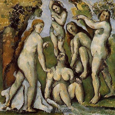 Cezanne | Five Bathers, c.1885/87