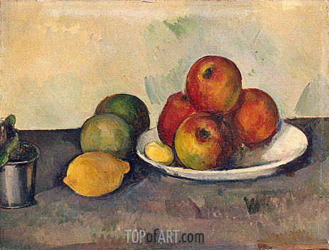 Still Life with Apples, c.1890 | Cezanne | Painting Reproduction