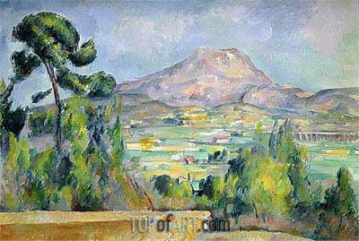 Cezanne | Mont Sainte-Victoire, c.1890