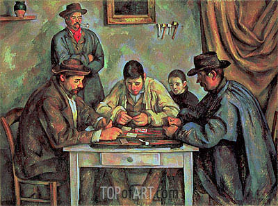 Cezanne | The Card Players, c.1890/92