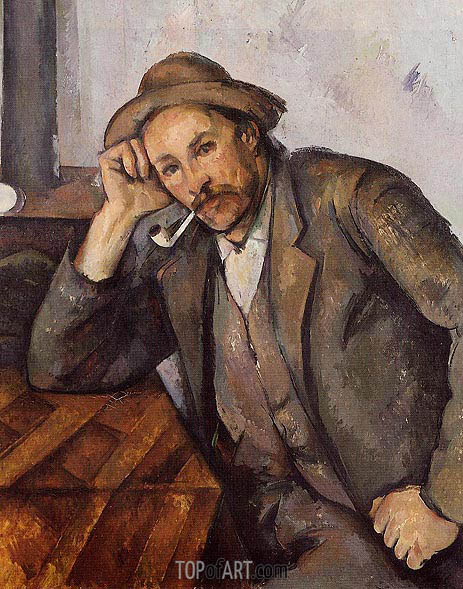The Smoker, c.1891/92 | Cezanne | Painting Reproduction