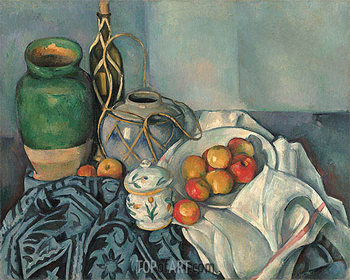 Still Life with Apples, c.1893/94 | Cezanne | Painting Reproduction