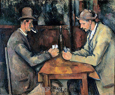 Cezanne | The Card Players, c.1893/96