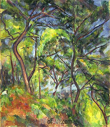 Cezanne | Forest Sous-Bois, c.1894