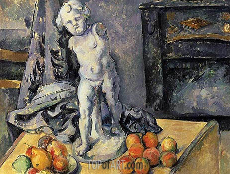 Cezanne | Still Life with Plaster Cupid, c.1894/95