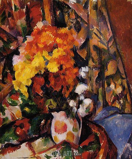 Cezanne | Chrysanthemums, c.1896/00