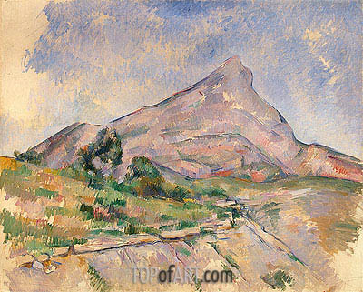 Mount Sainte-Victoire, c.1897/98 | Cezanne| Painting Reproduction