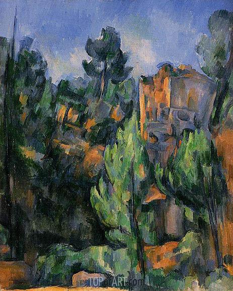 Cezanne | The Bibemus Quarry, c.1898