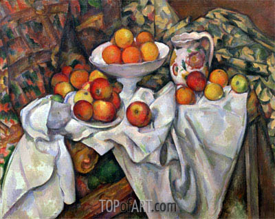 Cezanne | Apples and Oranges, c.1895/00