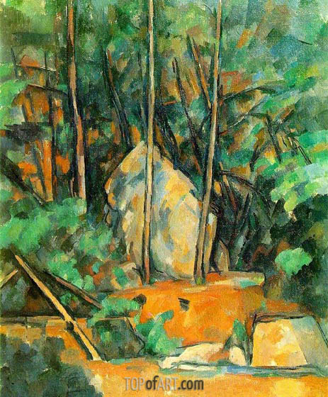 Cistern in the Park at Chateau Noir, c.1900 | Cezanne | Painting Reproduction