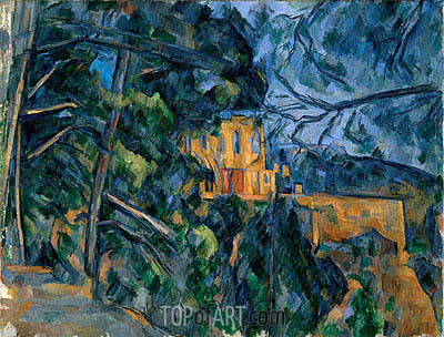 The Chateau Noir, c.1900/04 | Cezanne| Painting Reproduction
