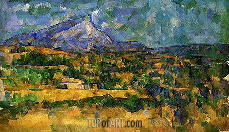 Mont Sainte-Victoire, c.1902/06 | Cezanne | Painting Reproduction