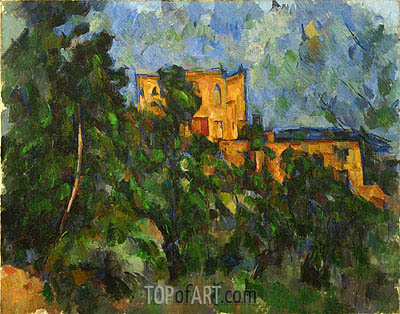 Chateau Noir, c.1900/04 | Cezanne | Painting Reproduction