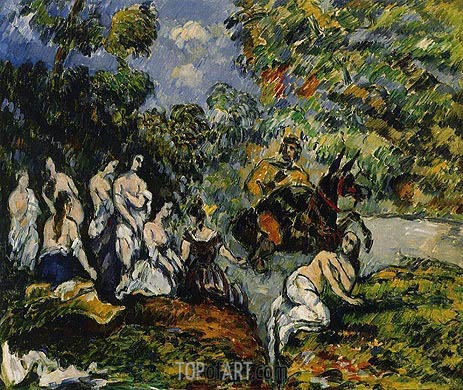 Legendary Scene, c.1878 | Cezanne | Painting Reproduction