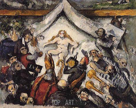 Cezanne | The Eternal Woman, c.1877