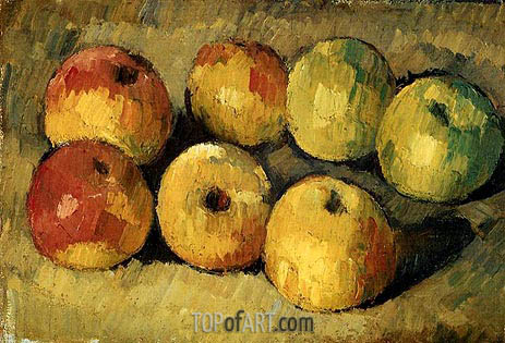 Apples, c.1877/78 | Cezanne | Painting Reproduction