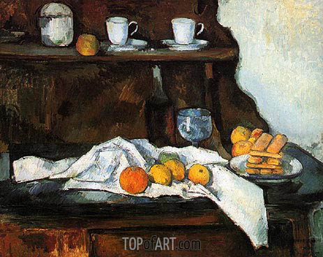 Cezanne | The Buffet, c.1873/77
