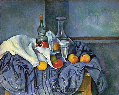 The Peppermint Bottle, c.1893/95 | Cezanne| Painting Reproduction