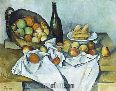 The Basket of Apples, c.1893 | Cezanne| Painting Reproduction