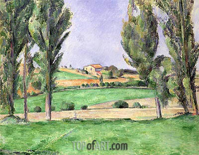 Provencal Landscape, c.1885/87 | Cezanne | Painting Reproduction