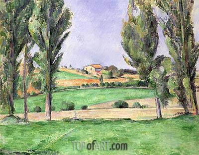 Cezanne | Provencal Landscape, c.1885/87