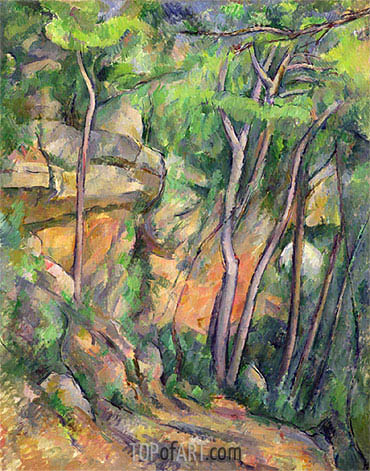 Cezanne | In the Park of Chateau Noir, c.1896/99