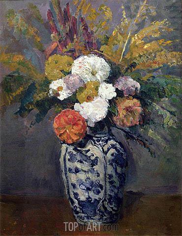 Cezanne | Dahlias, c.1873