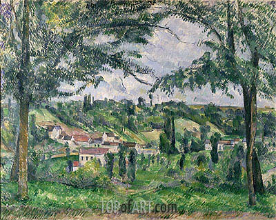 Landscape, undated | Cezanne | Painting Reproduction