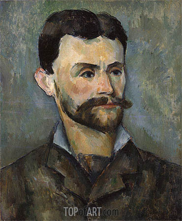 Jules Peyron, c.1885/87 | Cezanne | Painting Reproduction