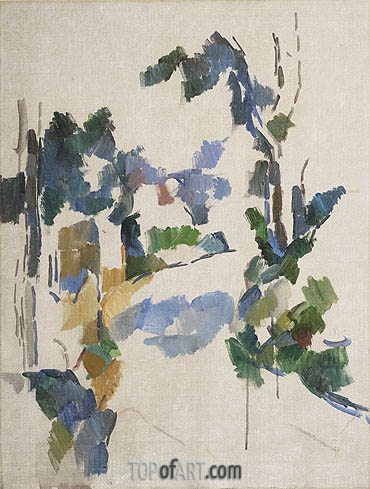 Cezanne | Study of Trees, c.1904