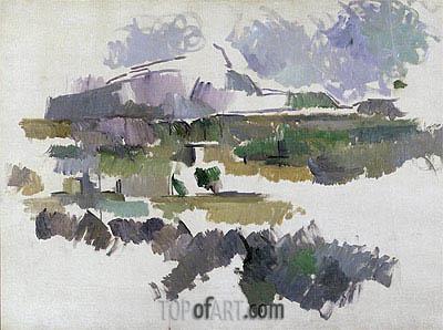 Montagne Sainte-Victoire, c.1904/05   Cezanne   Painting Reproduction