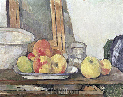 Still Life with Open Drawer, c.1877/79 | Cezanne | Gemälde Reproduktion