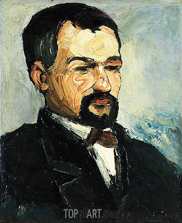 Portrait of Uncle Dominique, c.1865/67 | Cezanne | Painting Reproduction