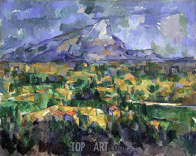 Mont Sainte-Victoire, c.1902/04 | Cezanne| Painting Reproduction