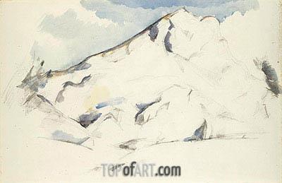 Cezanne   Montagne Sainte-Victoire, c.1900/02
