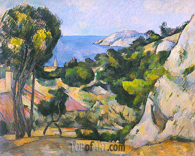 L'Estaque, c.1876/79 | Cezanne| Painting Reproduction