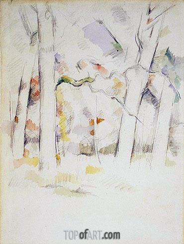 Cezanne | Spring Woods, c.1882/84