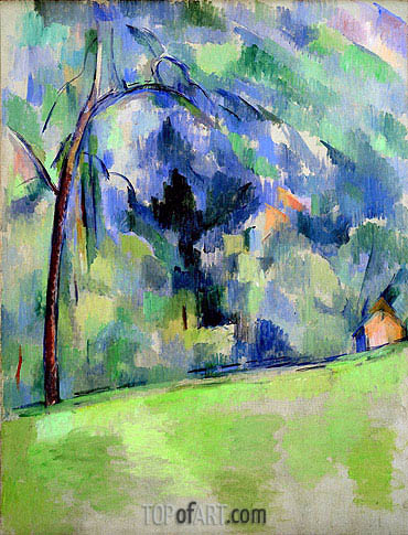 Morning in Provence, c.1900/06 | Cezanne | Painting Reproduction