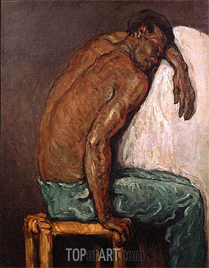 The Negro Scipion, c.1866/68 | Cezanne | Painting Reproduction