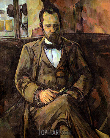 Portrait of Ambroise Vollard, c.1899 | Cezanne | Gemälde Reproduktion