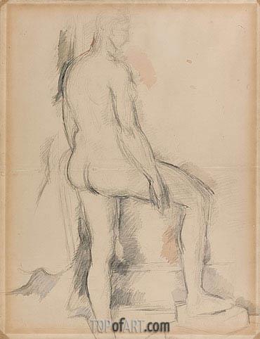 Cezanne | Study of a Nude Figure, c.1885