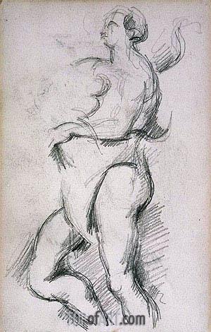 Cezanne | Allegorical Figure of Health, c.1882/90