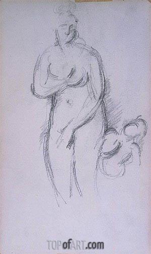 Cezanne | Antique Aphrodite and Eros, c.1885/90