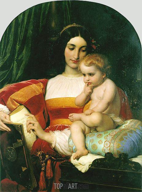 Paul Delaroche | The Childhood of Pico della Mirandola, 1842