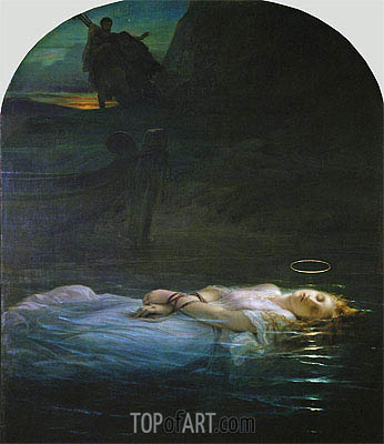 The Young Martyr, 1855 | Paul Delaroche | Painting Reproduction