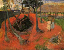Idyll in Tahiti, 1901 von Gauguin | Gemälde-Reproduktion