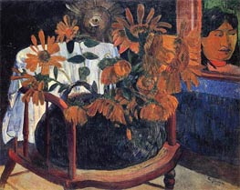 Sunflowers | Gauguin | Painting Reproduction